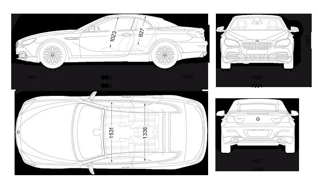 Ảnh Thông số kỹ thuật 640i convertible