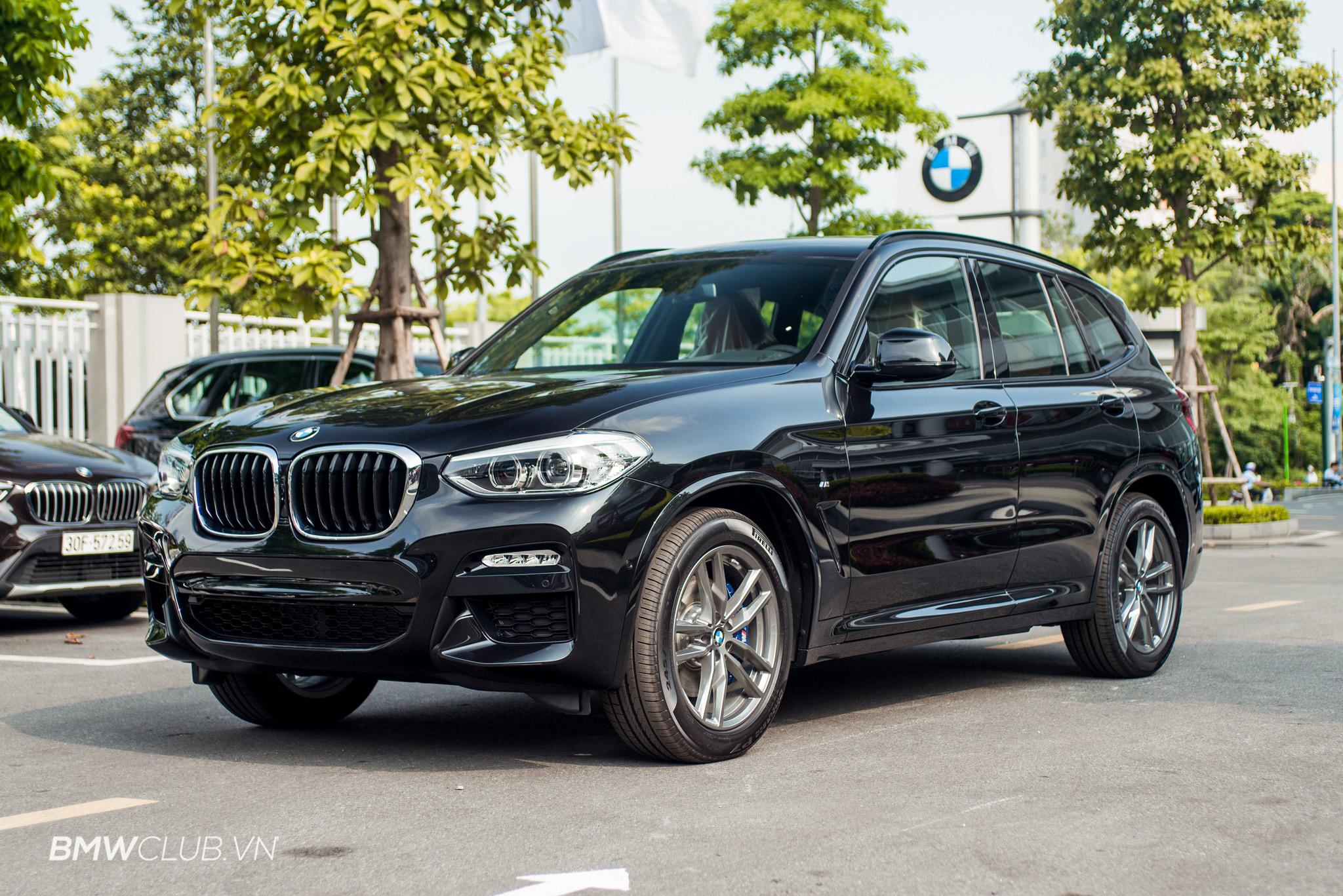 Khám phá từ trong ra ngoài BMW X3 2017